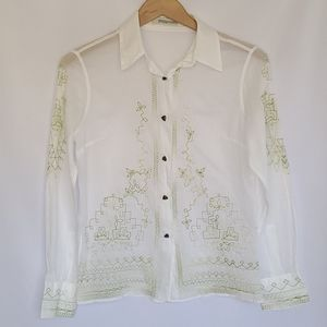 ERMANNO SCERVINO Button down shirt/blouse